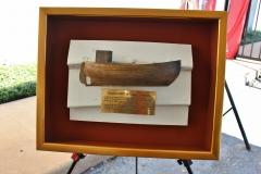 Danish Fishing Boat Re-dedication at the Holocaust Museum Houston